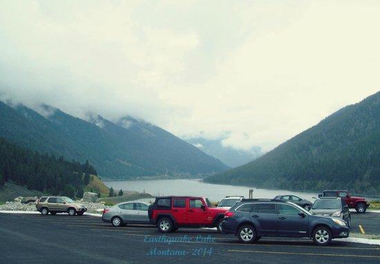 Earthquake Lake.