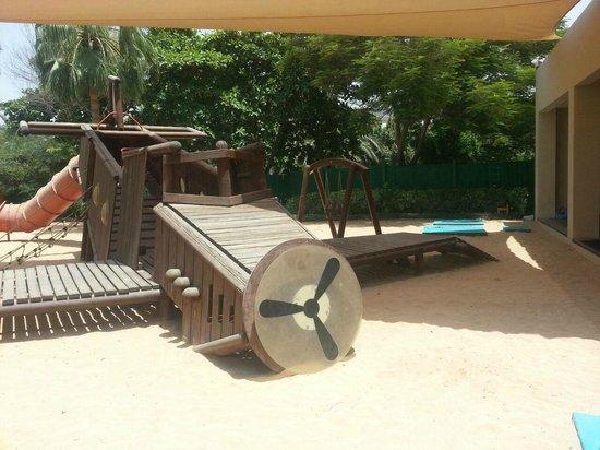 Grand Hyatt Dubai: Outside play area at kids club