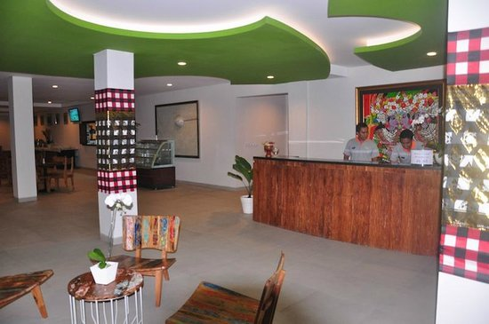 Taksu Sanur Hotel: Reception