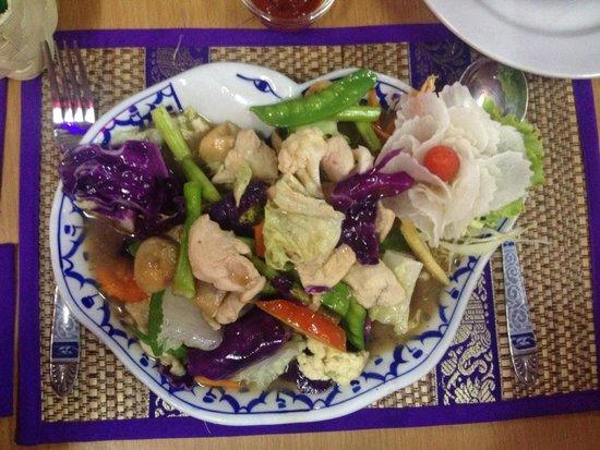 Halfway Inn (Restaurant) : Fried veg and chicken