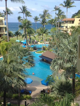 Phuket Marriott Resort & Spa, Merlin Beach: Main pool view