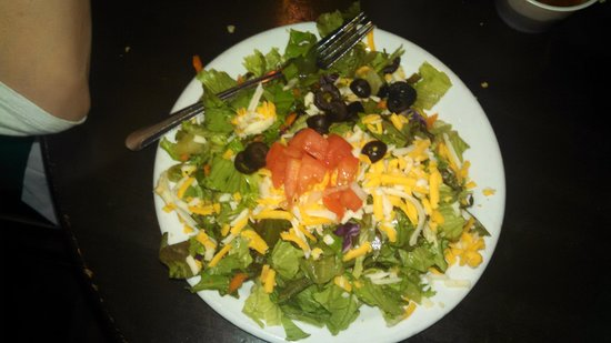 Roberto's Mexican Cafe : Side Salad
