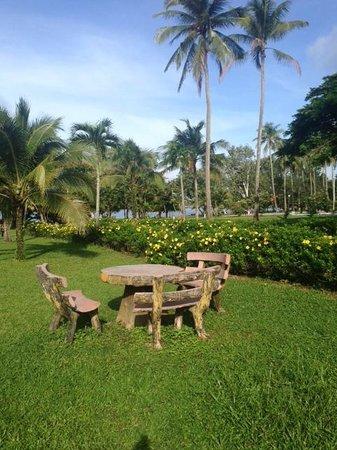 Sokha Beach Resort : お庭