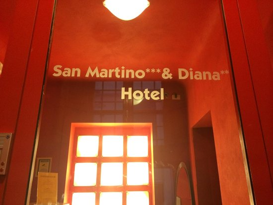 Albergo Diana : Pay attention on the moment of making a reservation - hotel has 2 names for 2 categories.