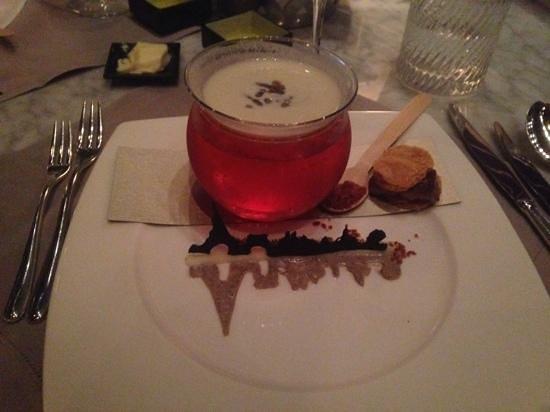Felix: Cream of mushroom with some foie gras