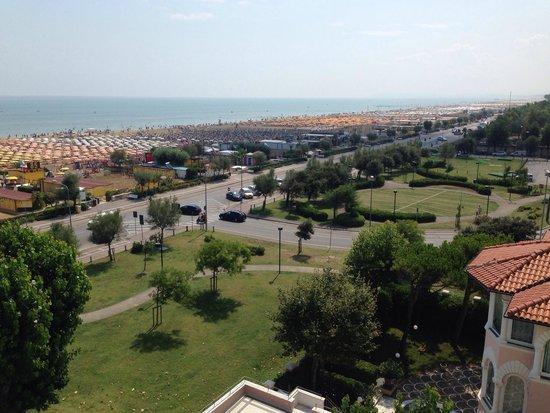 Hotel Aristeo: Vista dalla nostra camera, magica!
