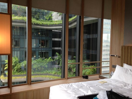 PARKROYAL on Pickering: The room we stayed