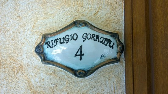 Agriturismo Rifugio Gorroppu: Targa Camera