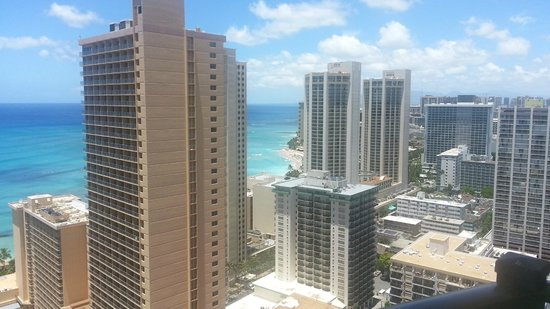 Hilton Waikiki Beach: view from room
