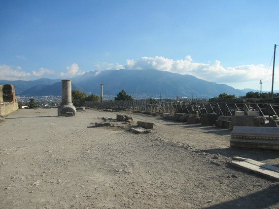 Scavi di Pompei: All that remains of the Temple of Venus