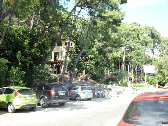 Club Nimara Beach Resort : otel giriş