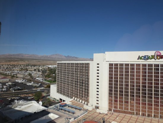 Aquarius Casino Resort : view looking north-west