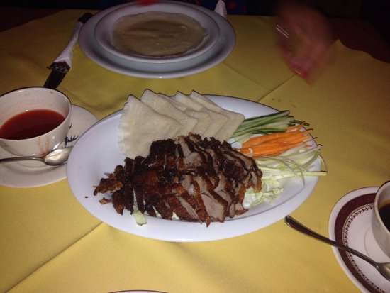 Empire Of The Sun (Chinese and Thai) : Crispy Duck and pancakes :)