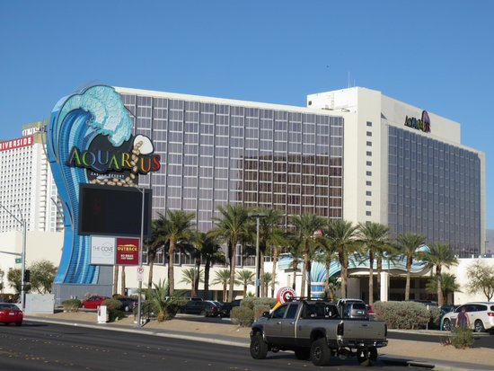 Aquarius Casino Resort, BW Premier Collection: view of hotel from across the street