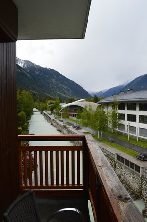 Hotel de l'Arve: View from Balcony