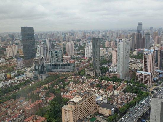 Jing An Shangri-La, West Shanghai: Spectacular view of Shanghai