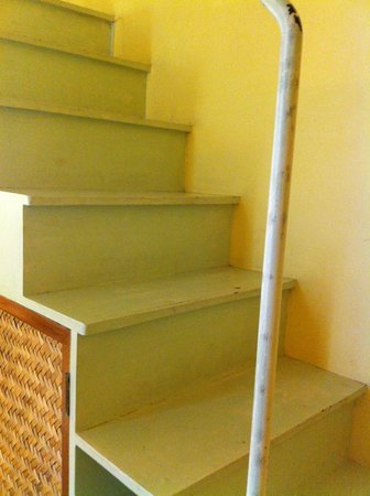 Hotel Du Parc: Stairs