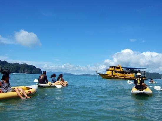 Two Sea Tour: Retour au bateau