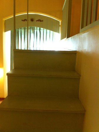 Hotel Du Parc: The stairs to the duplex