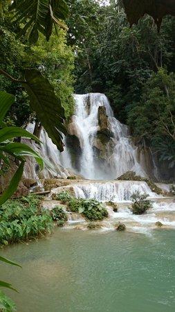 Kuang Si Falls: Laos waterfalls