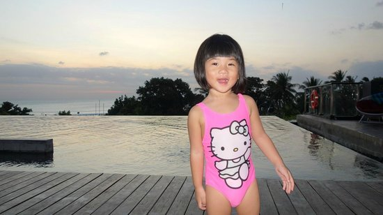 Pullman Bali Legian Beach : sunset pool