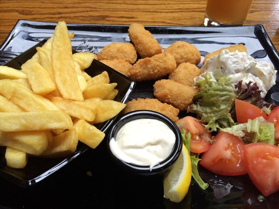 Jack Meade's Pub: Scampi and Chips at Jack Meades
