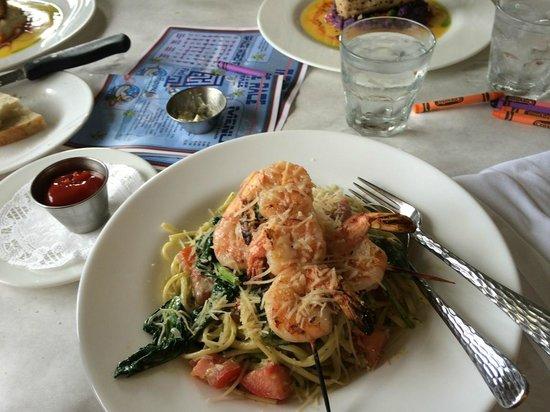 Jackie Rey's Ohana Grill: Pasta Florentine