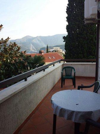Villa Franovic: Vista dal terrazzino