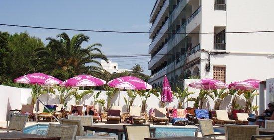 FERGUS Paraiso Beach Hotel: the pool area