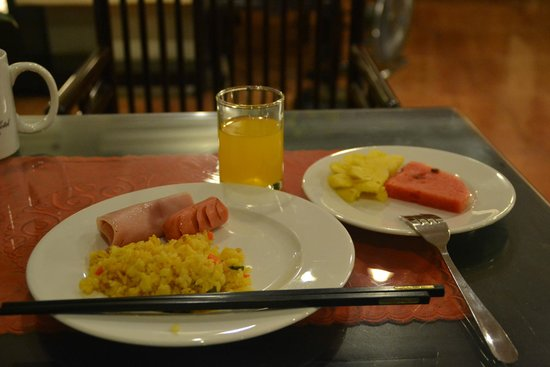 Classic Street Hotel : 朝食
