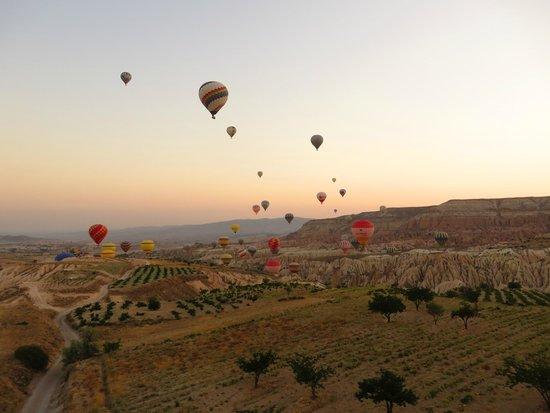Kapadokya Balon Turu: A view from the baloon