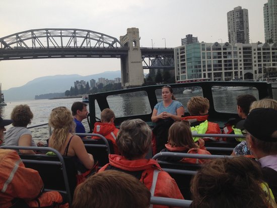 Wild Whales Vancouver: Ashley, the tour guide. Great work!