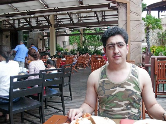 Centara Grand Mirage Beach Resort Pattaya: Breakfast @ restaurant
