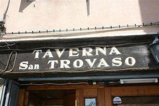 Taverna San Trovaso : Een aanrader !