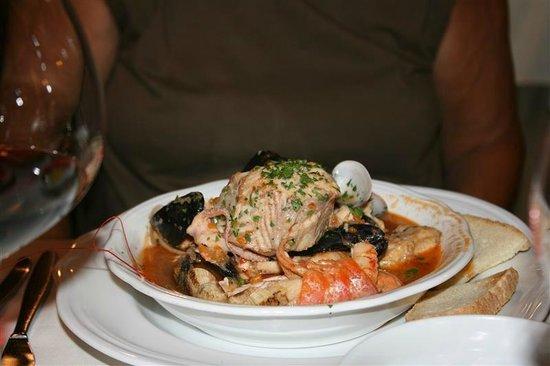 Taverna San Trovaso : Vissoep met véél vis...heerlijk !