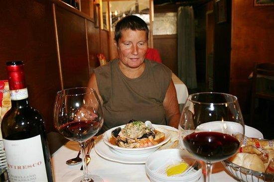 Taverna San Trovaso : Zoveel lekkers !