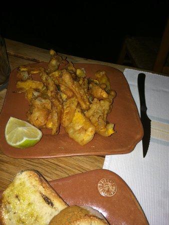 Grambousa: Zucca fritta