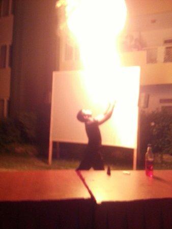 Melissa Garden Apart Otel: Turkish night