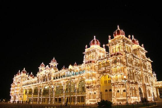 Mysore Maharajah's Palace (Amba Vilas): Mysore Palace on Festivals