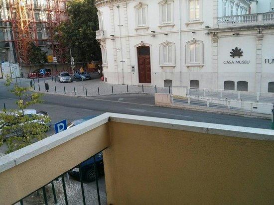 Hotel Jorge V: Vista desde el balcon