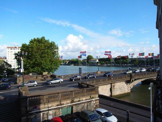Ibis Styles Bayonne Gare Centre : お部屋からの眺め。
