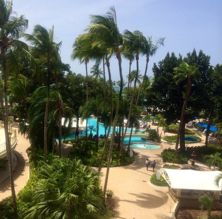 InterContinental San Juan: Our beautiful 4th floor view!