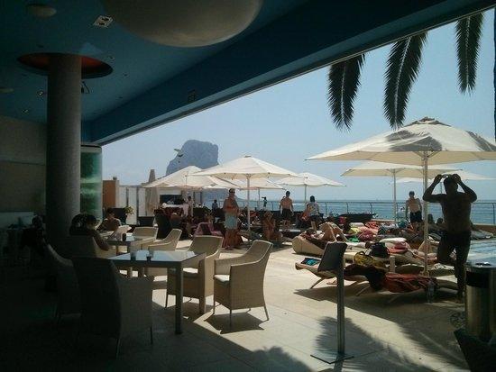 Gran Hotel Sol y Mar: Beach club espacio diurno