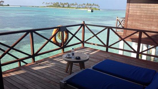 Olhuveli Beach & Spa Resort: View from the balcony