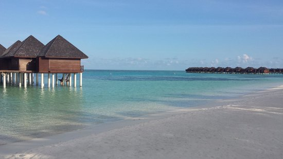 Olhuveli Beach & Spa Resort: View of the lagoon
