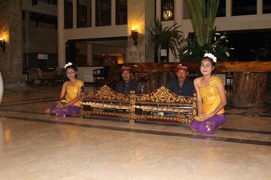 Front Reception Grand Mirage Resort Bali