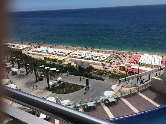 Sesimbra Hotel & Spa: Vista da varanda do quarto do 9•andar