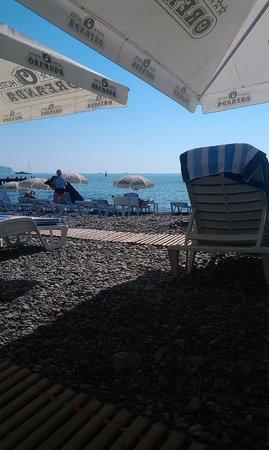 Hotel Oreanda: пляж