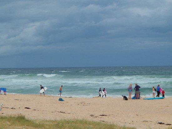 Constantine Bay Beach: quiet beach