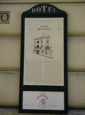 The Britannia Hotel: Histoire de l'hôtel